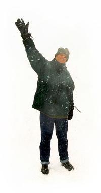 Mikirk Bigwave in a Blizzard