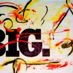 """BIG Sense"" by Mikirk 2004 (acrylic on billboard paper ~6'x5')"